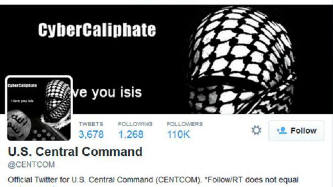 داعش آمریکا را هک کرد
