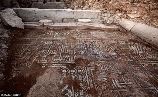کشف سایت باستانی زیر گوش داعشیها در ترکیه + تصاویر