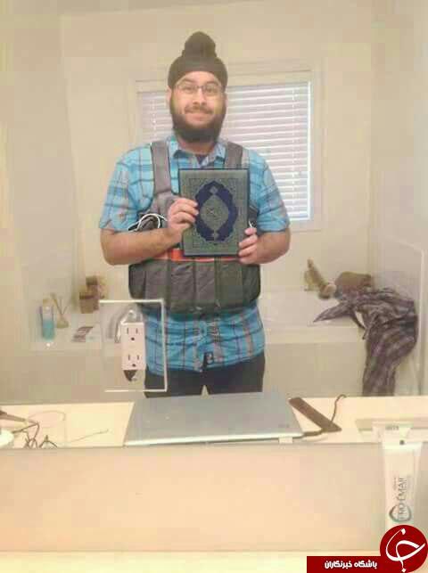 داعش تصویر یکی از تروریست ها رو منتشر کرد+ عکس