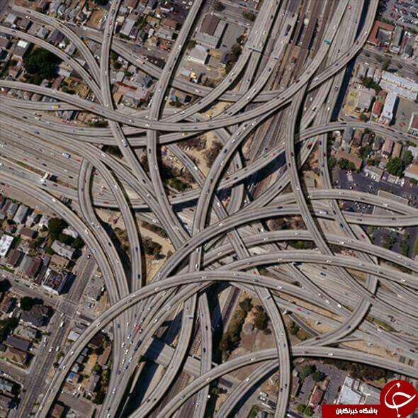 شاهکار هایی از مهندسی راه و ساختمان+عکس