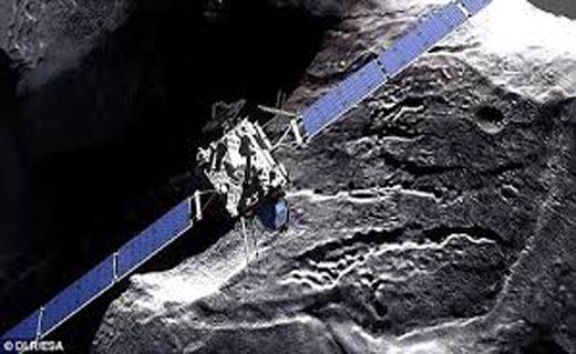 تصادف شدید کاوشگر با سیارک فضایی ناشناخته + تصاویر