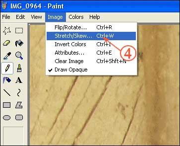 کم کردن حجم عکس در paint+ آموزش