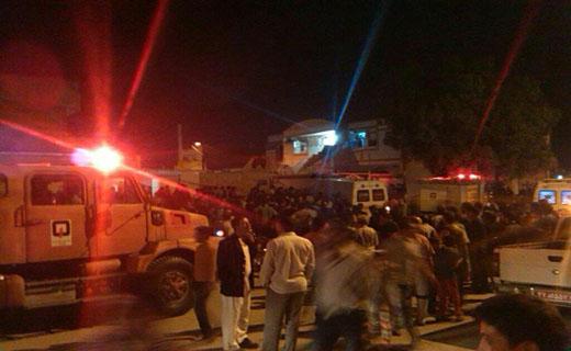 انفجار مهیب گاز در منطقه پردیس اهواز