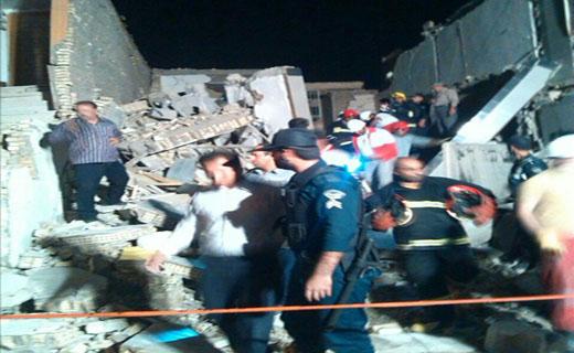 انفجار مهیب گاز در منطقه پردیس اهواز+تصاویر