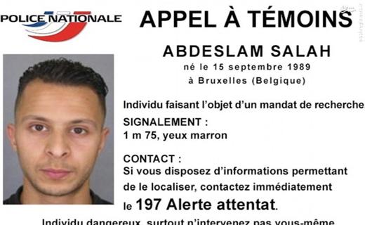 تصاویر عاملان حملات پاریس منتشر شد