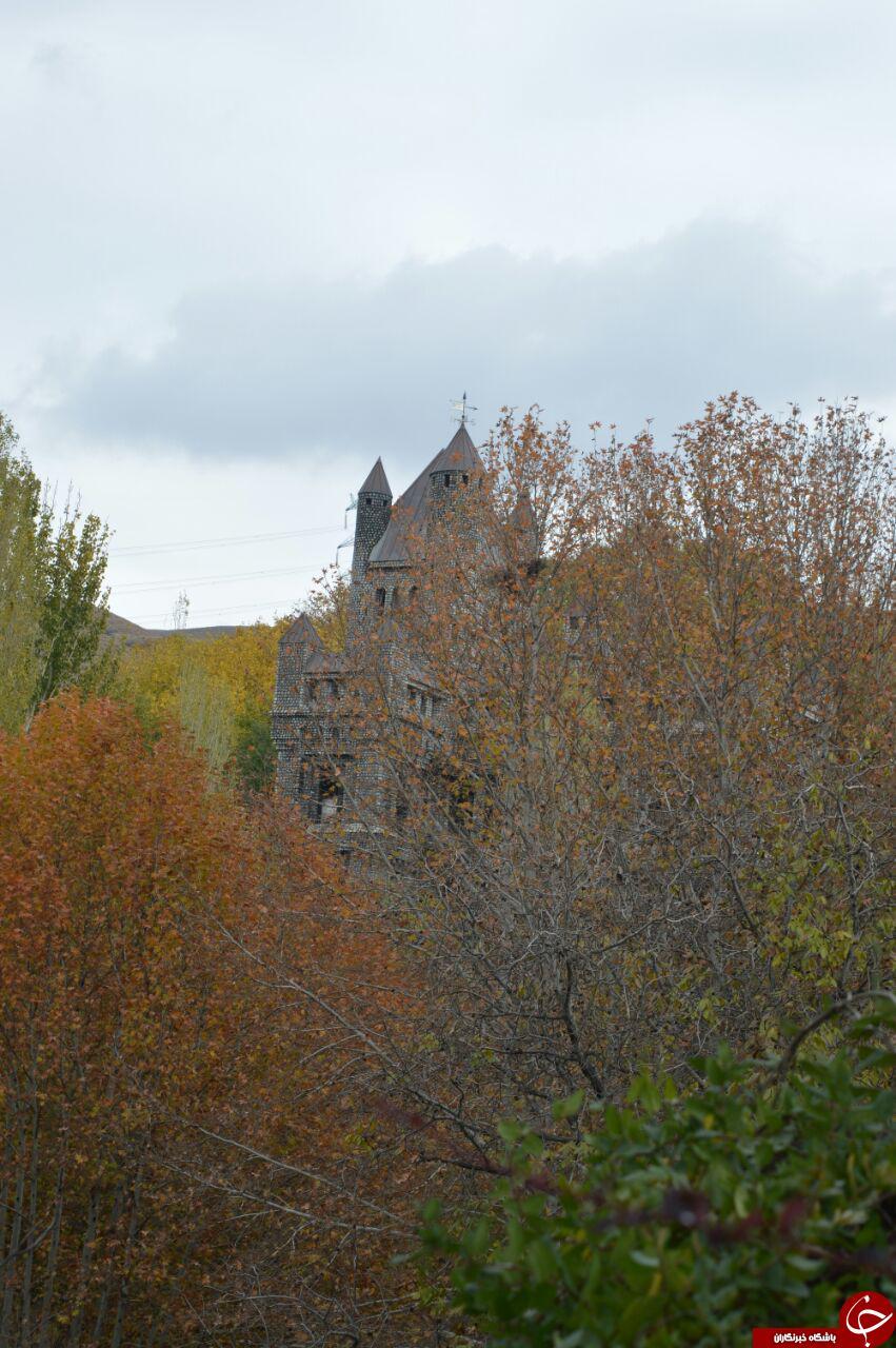 تصاویری از یک قلعه عجیب و غریب
