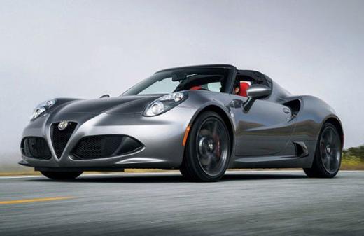 خودروی اسپرت جدید آلفارومئو+عکس
