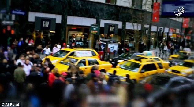 داعش با انتشار ویدیوی جدیدی، نیویورک را تهدید به بمبگذاری کرد+ تصاویر