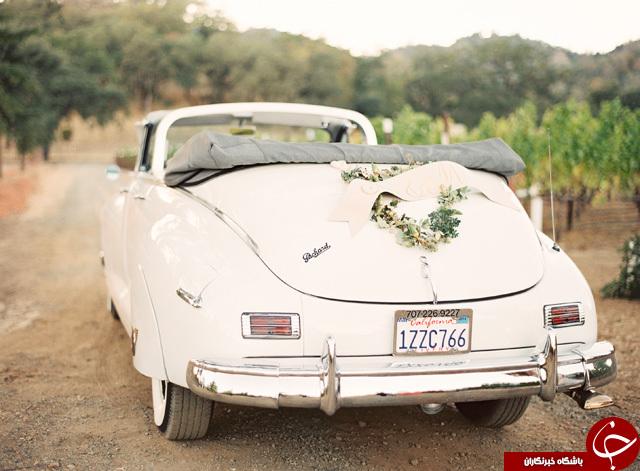 زیبا ترین ماشین های عروس + عکس
