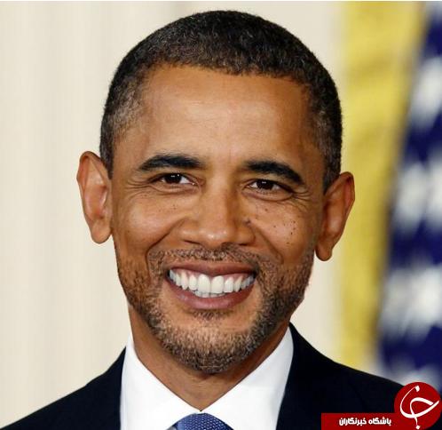 اوباما با ریش ستاری + عکس