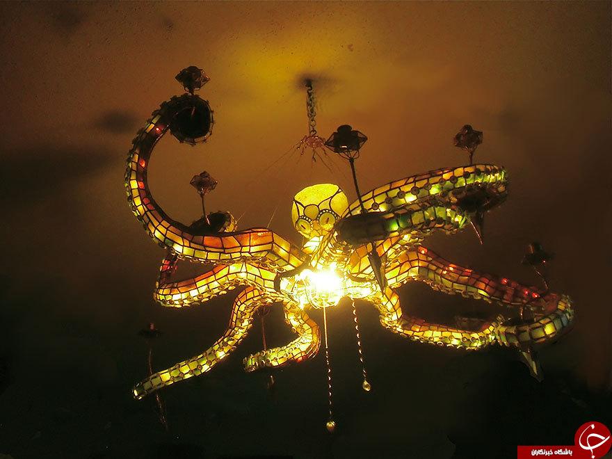جالب ترین لوستر های جهان + عکس
