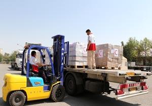 ورود تیم راهانداز هلالاحمر ایران به نجف/ 85 تن دارو و تجهیزات درمانی به عراق رسید