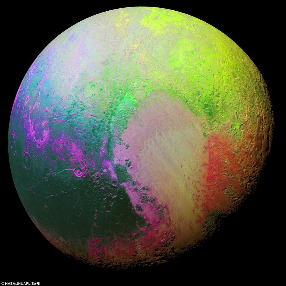 رنگهایی خیالانگیز به سیاره مرده جان تازهای داد + تصاویر