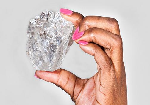 قیمت دومین الماس بزرگ جهان کماکان در هالهای از ابهام +تصاویر