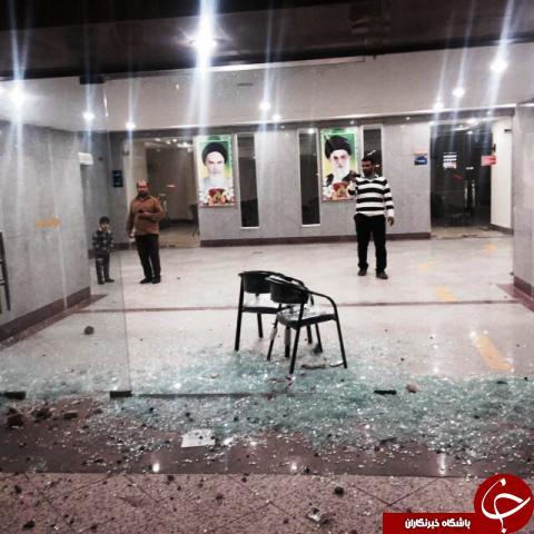 وقتی خشونت و شکستن شیشه دلیلی برای + عکس