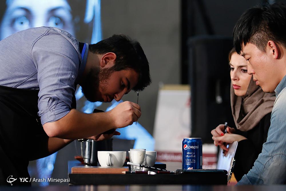 اختتامیه دومین دوره مسابقات باریستا قهوه