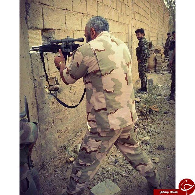 مرد افسانه ای ارتش سوریه کیست؟ + عکس