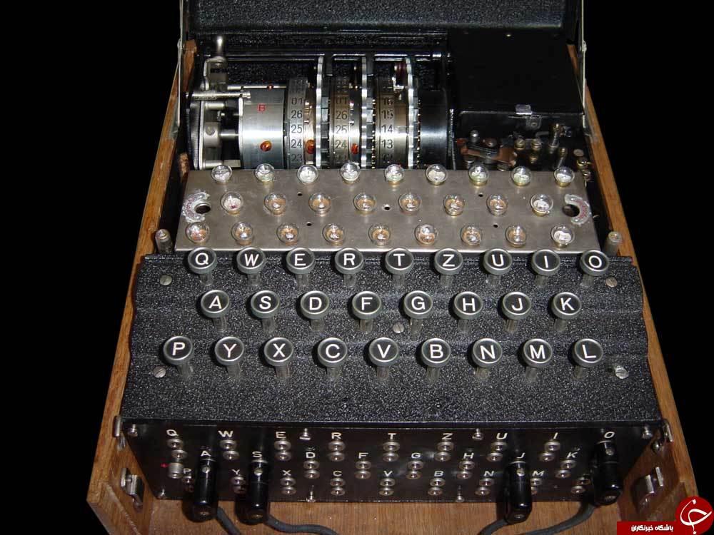 هزینه چندصد هزار دلاری برای ماشین رمز نگاری نازی ها +تصاویر