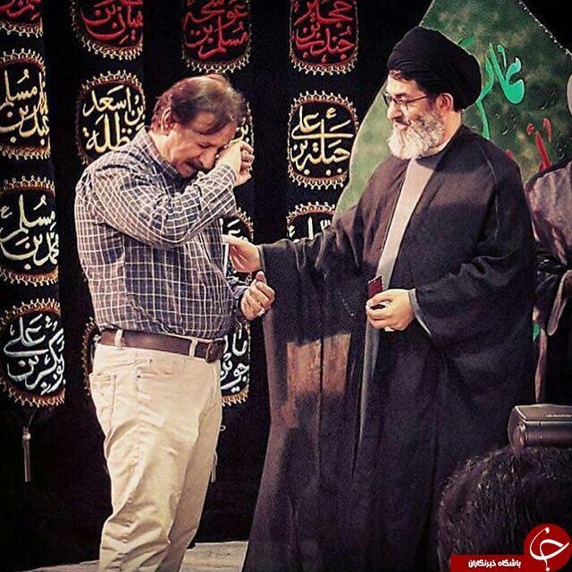 تقدیر پر احساس دبیر کل حزب الله عراق از کارگردان محمد رسول الله + عکس