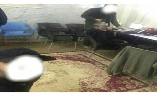 اتاق کار سردار سلیمانی در سوریه - دریچه انتظار