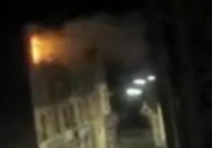 لحظه انفجار نخستین زن انتحاری در پاریس + فیلم