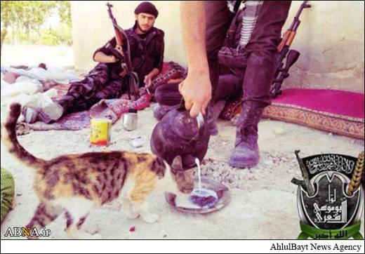 وقتی داعش مهربان می شود+عکس