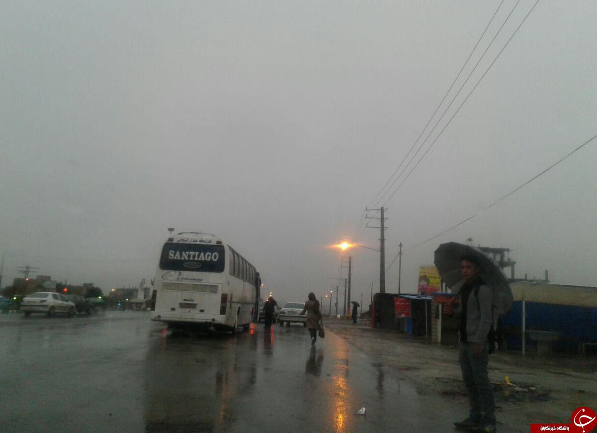 کمبود امکانات در شهر الله انگور + تصویر