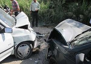 تصادف پژو با پراید با 11 کشته و مجروح