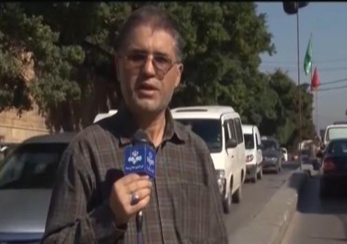 حضور دوباره خبرنگار مجروح صداوسیما در سوریه+ عکس