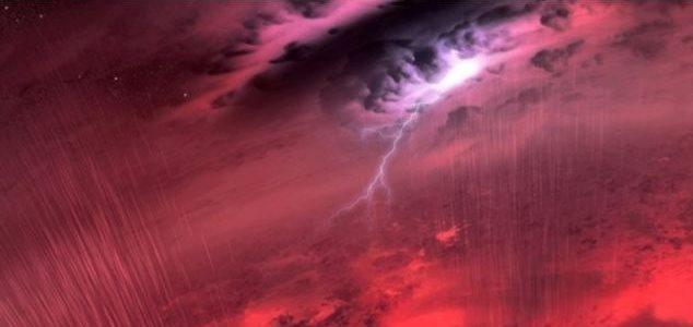 آیا در سیارات دیگر هم باران می بارد؟