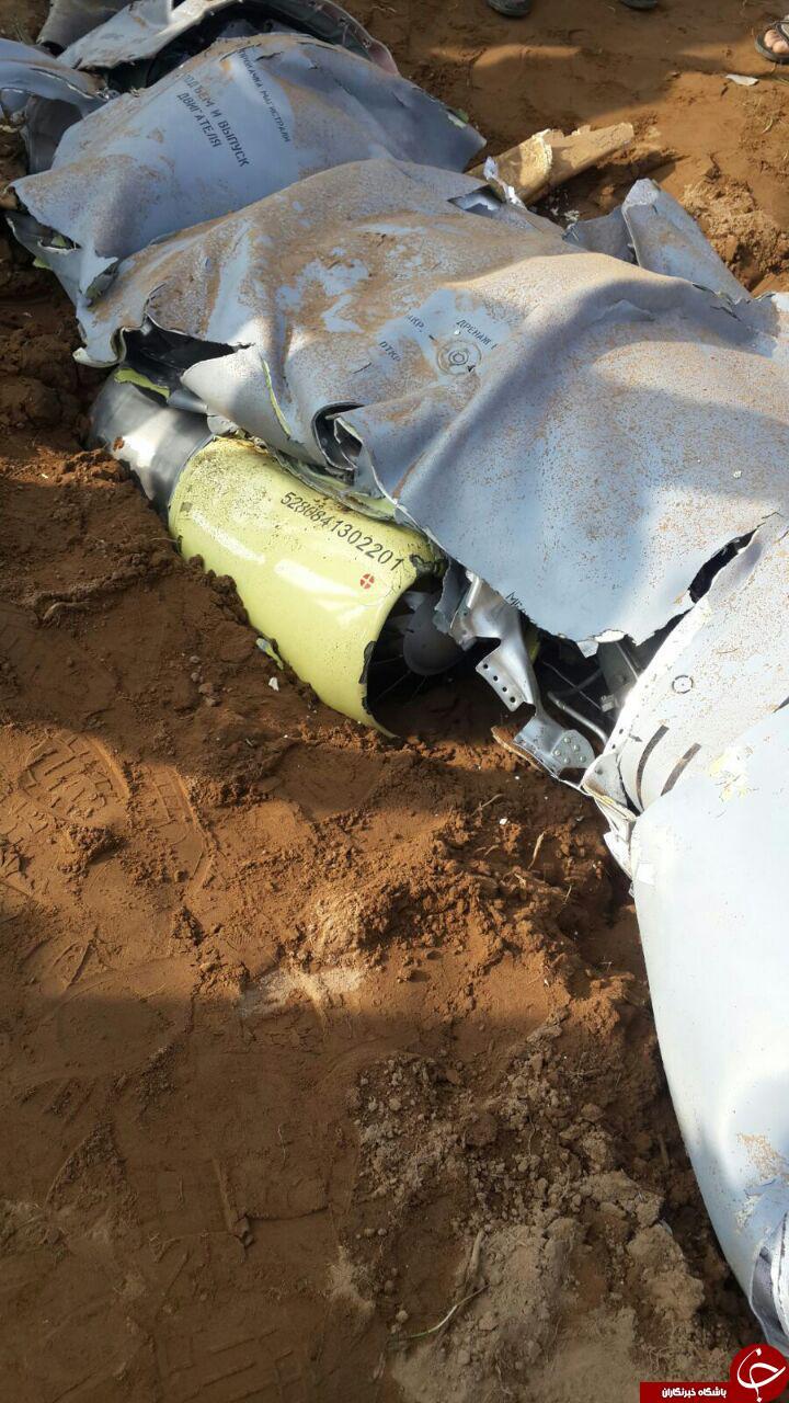 تصاویر جدید از سقوط پهپاد در شوش دانیال