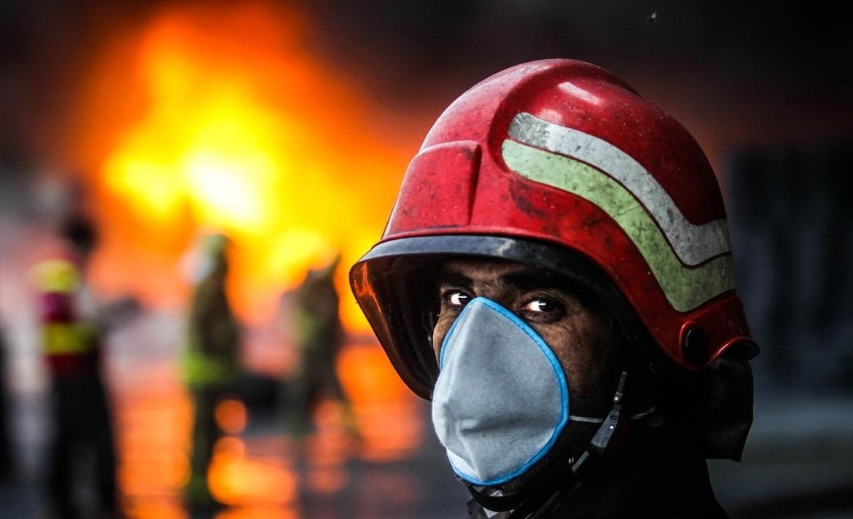 تانکر سوخت در ارتفاعات توچال طعمه حریق شد