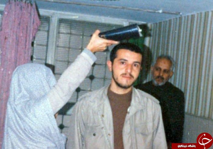 آخرین وداع یک شهید با والدینش+ عکس