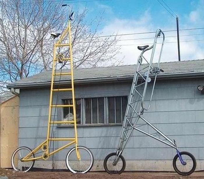 عجیب ترین دوچرخه های جهان+تصاویر!