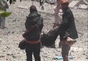 شهادت یک زن در صعده یمن