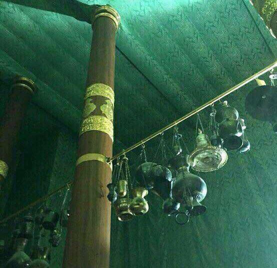 داخل خانه خدا شوید و وجودتان را به عطر نبوی متبرک کنید+تصاویر