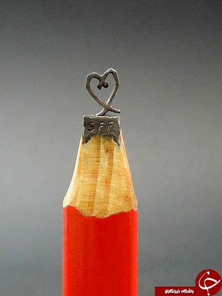 خلاقیتی شگفت انگیز با مدادسیاه+عکس
