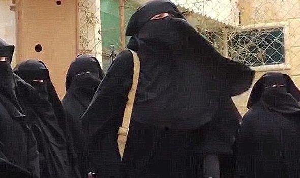 عروس های انتحاری، تازه ترین بهره برداری داعش از زنان در سوریه+ تصاویر