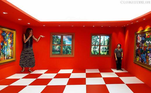 عجیب ترین اتاق ساخته شده با ایجاد توهم بینایی