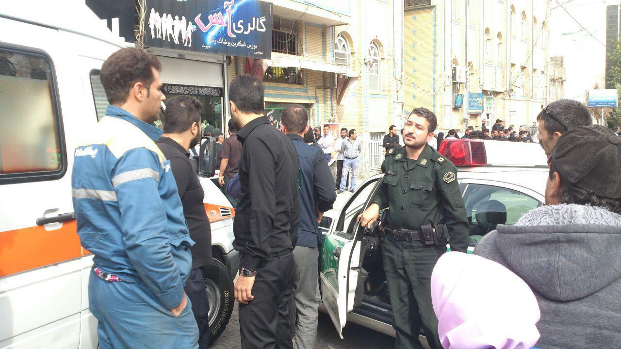 سرقت مسلحانه از یک طلافروشی در مشهد+تصاویر