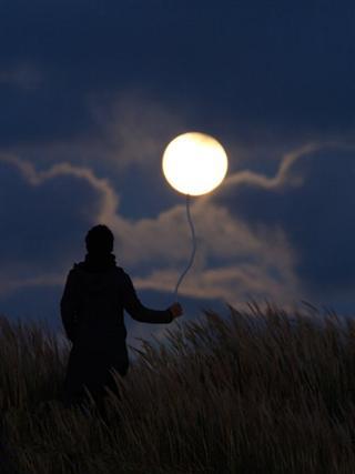 وقتی ماه بازیچه انسان می شود + 19 عکس