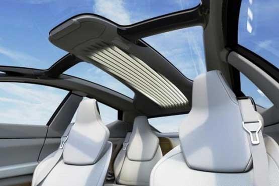 خودرو ی که صندلی 360 درجه می چرخند +تصویر