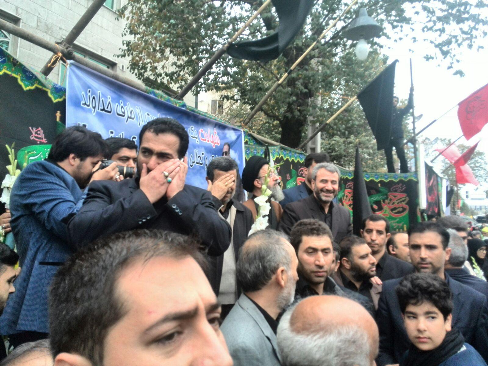 مراسم تشییع پیکر شهیدان