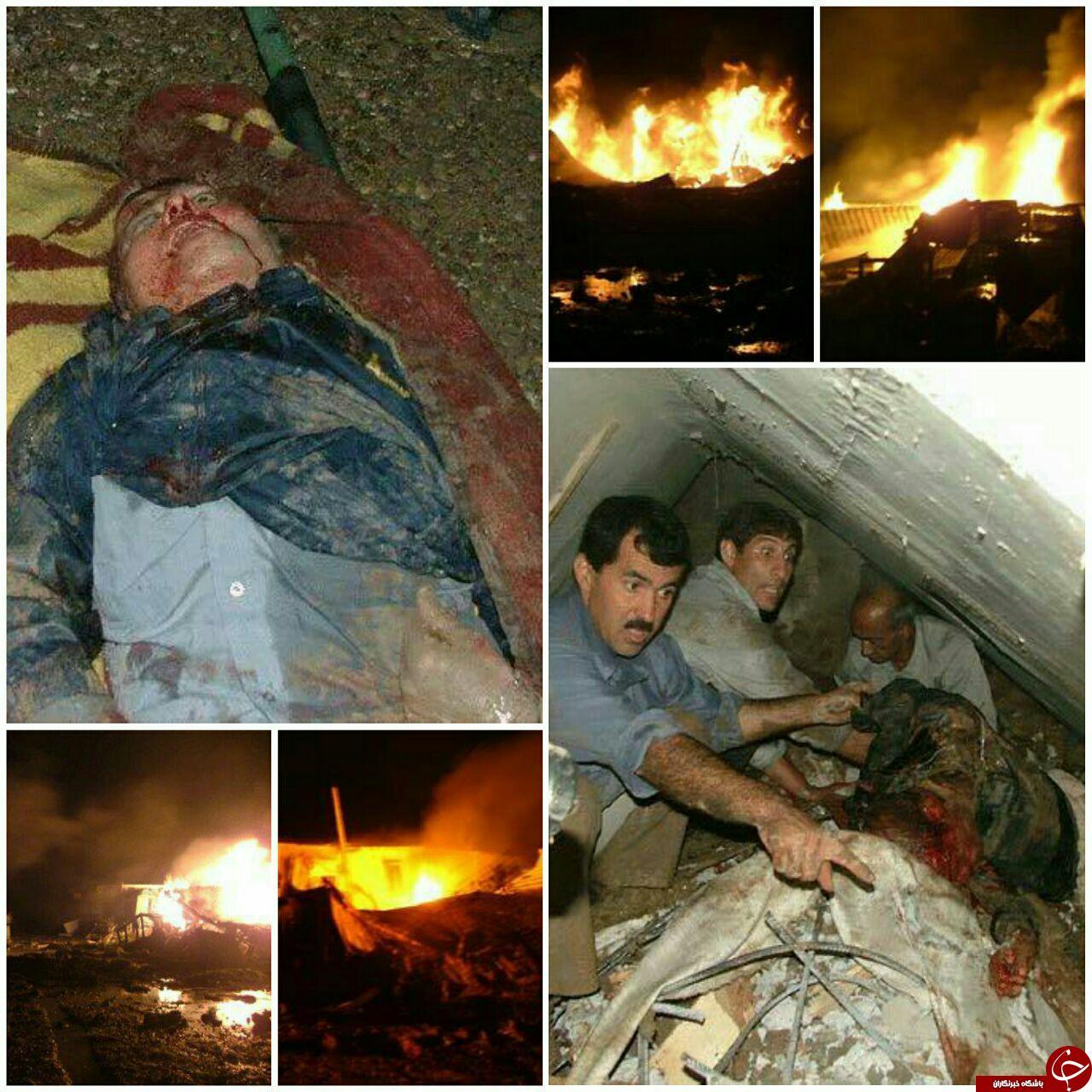 حمله موشکی به بغداد 20 منافق را به هلاکت رساند!