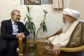 دیدار رییس مجلس شورای اسلامی با علما و مراجع قم