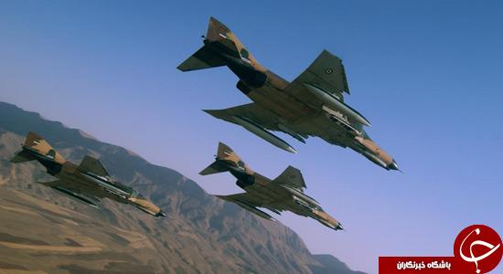 جنگنده های ایرانی در آسمان دمشق