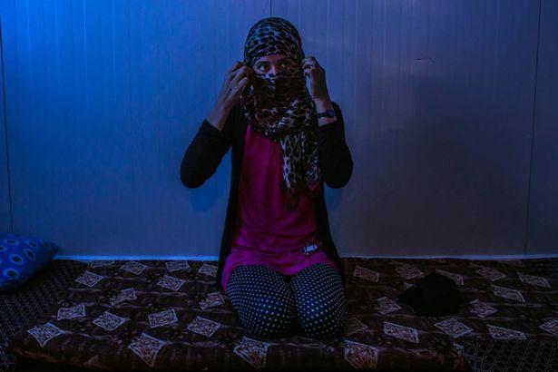 قانون جدید و بی رحمانه داعش برای قربانیان تجاوز جنسی + تصاویر