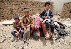 بروز مشکلات شدید برای دانش آموزان فقیر یمن در پی ادامه حملات سعودی ها