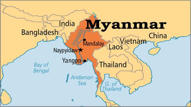30 کشته در پی رانش زمین در میانمار