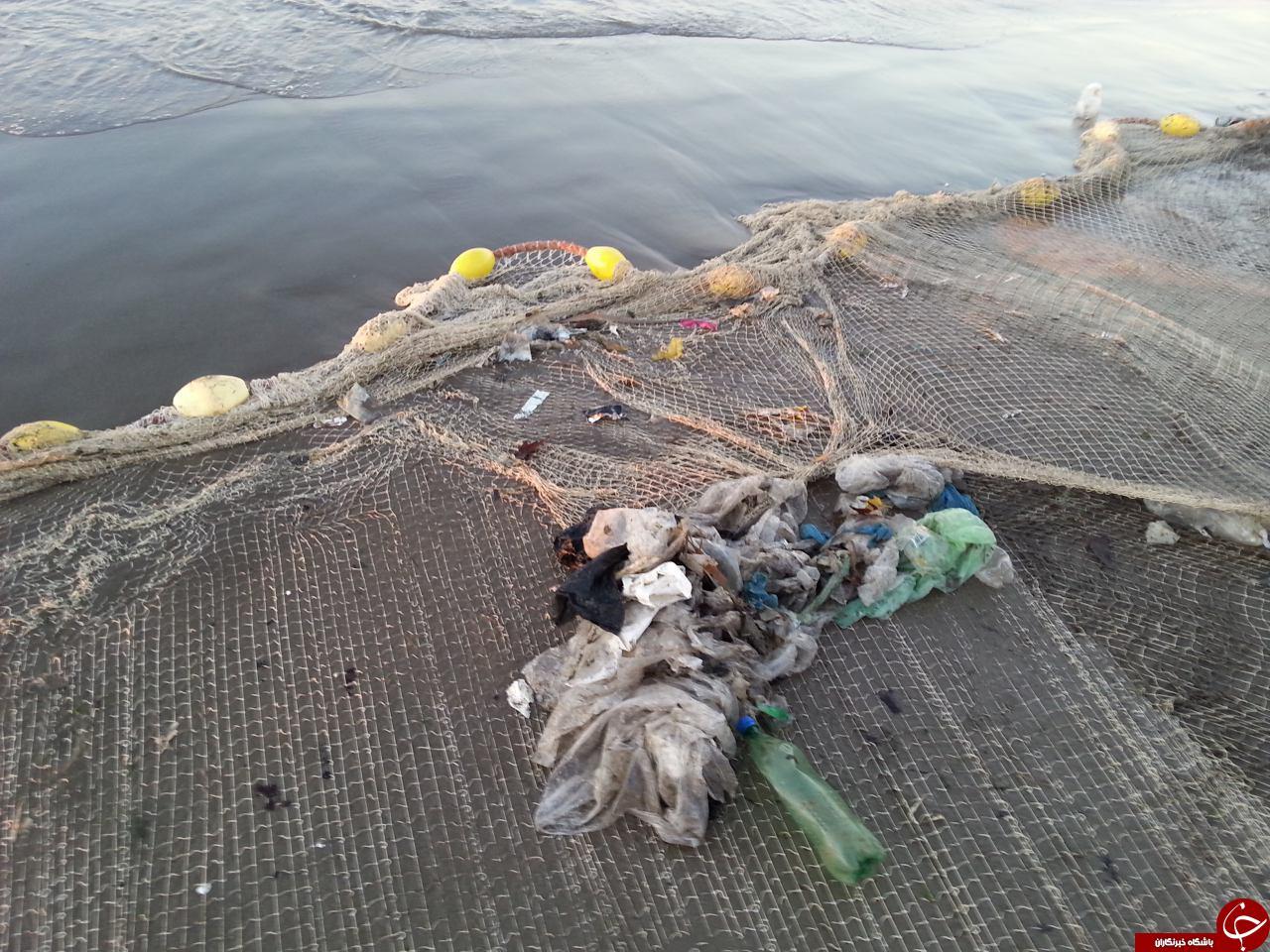 ماهیگیری از زبالهها + تصاویر
